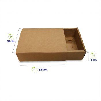 กล่องกระดาษคราฟท์-ทรงลิ้นชัก(ฝา+ตัว)-HT2-dimension