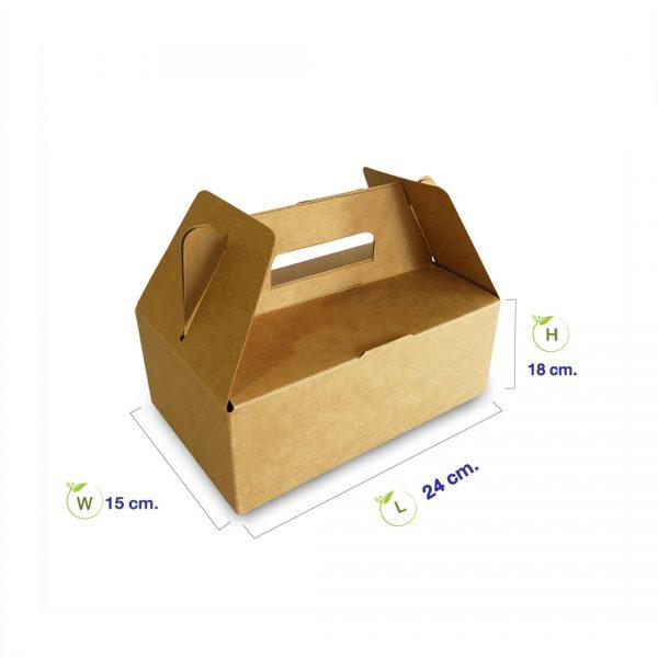 กล่องกระดาษคราฟท์-มีหูหิ้ว-dimension