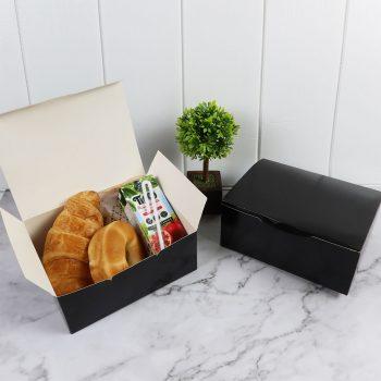 กล่องกระดาษใส่ขนม-snack-box-สีดำ-3-