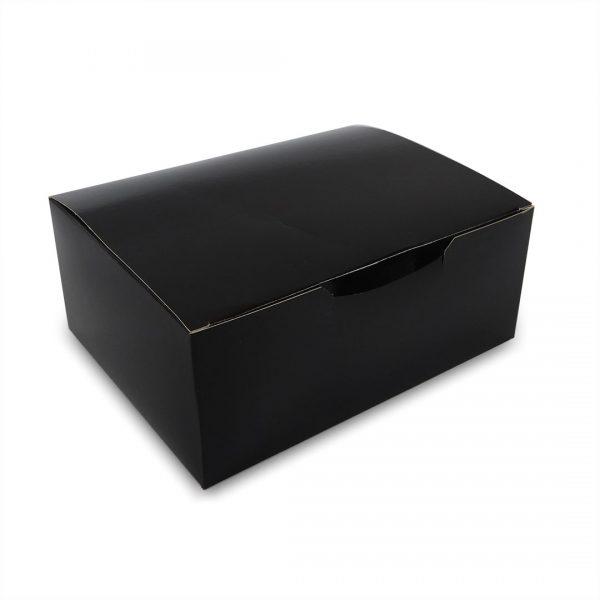 กล่องกระดาษใส่ขนม-snack-box-สีดำ-4-