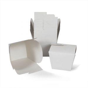 กล่องกระดาษใส่อาหาร To go ทรงสูง size M