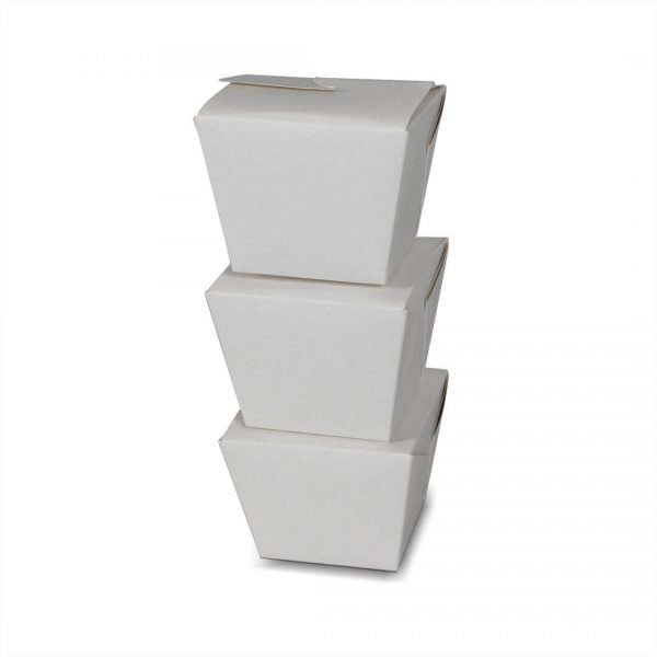 กล่องกระดาษใส่อาหาร To go ทรงสูง size S4