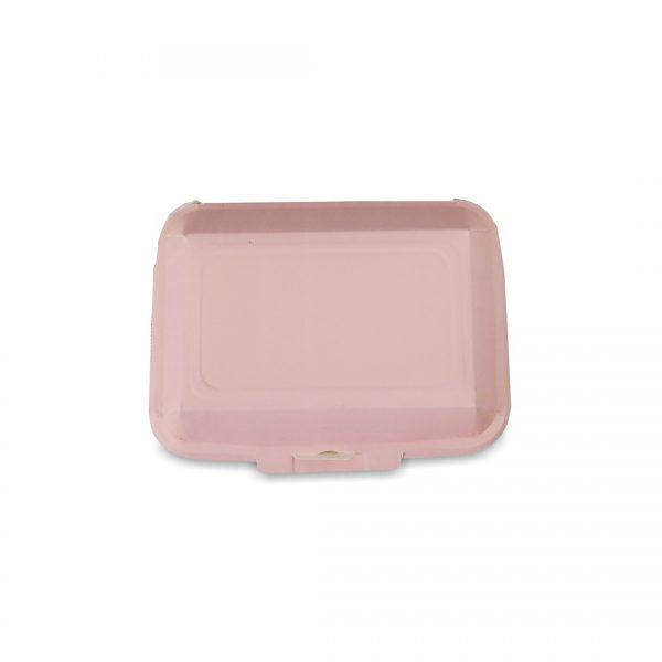 กล่องข้าว ใส่อาหารปลอดภัย สีชมพู 725 ml.4