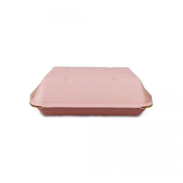 กล่องข้าว ใส่อาหารปลอดภัย สีชมพู 725 ml.5