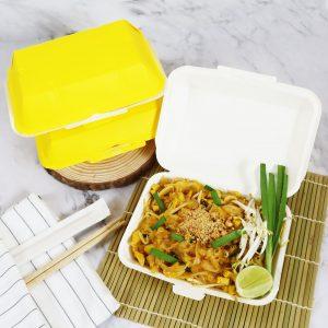 กล่องข้าว ใส่อาหารปลอดภัย สีเหลือง 725 ml.3