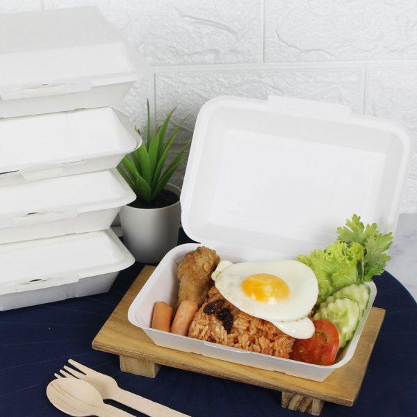 กล่องข้าว ใส่อาหารปลอดภัย 600 ml.4