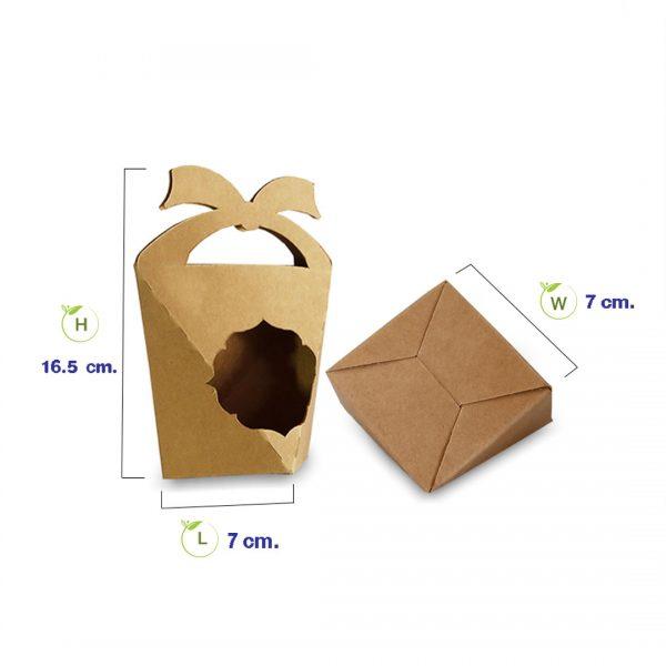 กล่องคุกกี้-เจาะหน้าต่าง-มีหูหิ้ว-ทรงสามเหลี่ยม-dimension