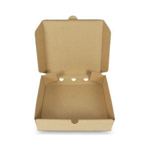 กล่องพิซซ่าสี่เหลี่ยม ขนาด 7 นิ้ว 17 x 17 x 4 ซม.3