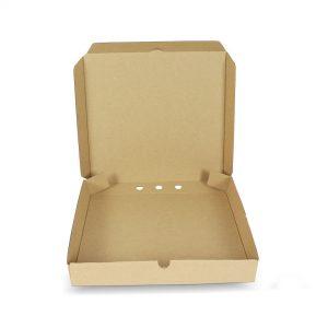 กล่องพิซซ่าสี่เหลี่ยม ขนาด 10 นิ้ว