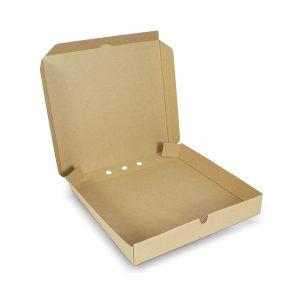 กล่องพิซซ่าสี่เหลี่ยม ขนาด 12 นิ้ว 30.5 x 30.5 x 4.5 ซม.