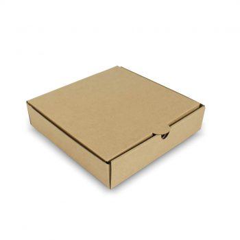 กล่องพิซซ่าสี่เหลี่ยม ขนาด 8 นิ้ว 20.3 x 20.3 x 4.5 ซม.
