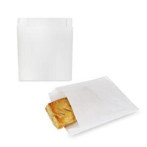 ซองกระดาษคราฟท์สีขาว 18.5x15x3 cm