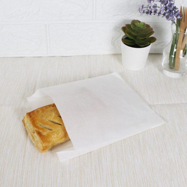 ซองกระดาษคราฟท์สีขาว 18.5x15x3 cm-5
