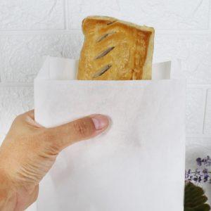 ซองกระดาษคราฟท์สีขาว 18.5x15x3 cm+4