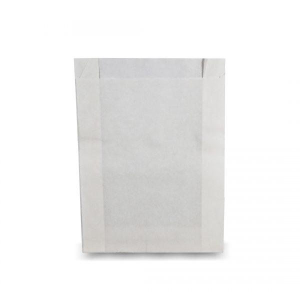 ซองกระดาษคราฟท์สีขาว 22x16x3 cm-2