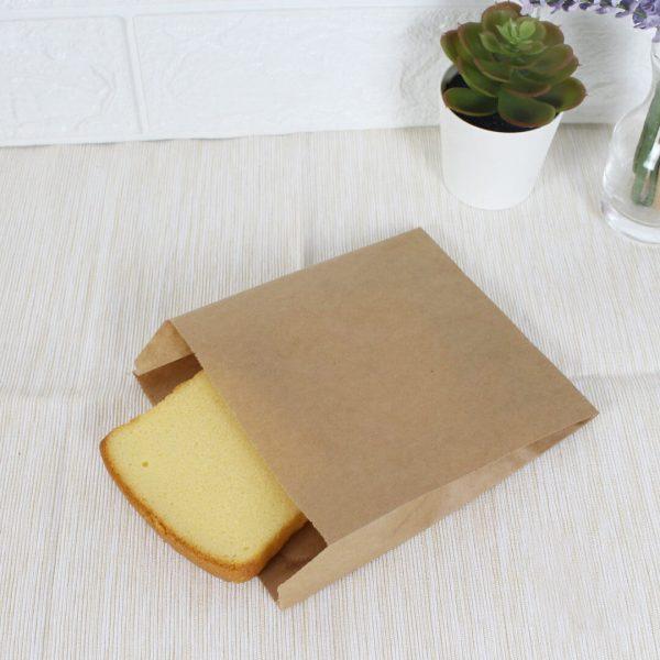 ซองกระดาษคราฟท์สีน้ำตาล 15.5x13x3 cm-2