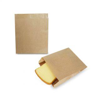 ซองกระดาษคราฟท์สีน้ำตาล 15.5x13x3 cm