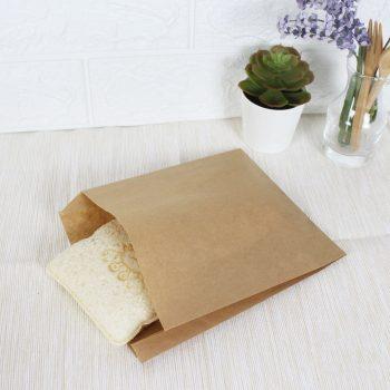 ซองกระดาษคราฟท์สีน้ำตาล 18.5x15x3 cm-2