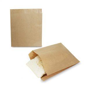ซองกระดาษคราฟท์สีน้ำตาล 18.5x15x3 cm