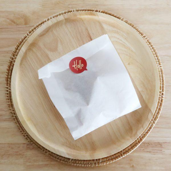 ซองกระดาษคราฟท์ สีขาว size M-5