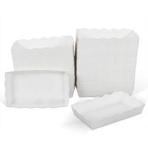 ถาดกระดาษ สีขาว ไซส์ L
