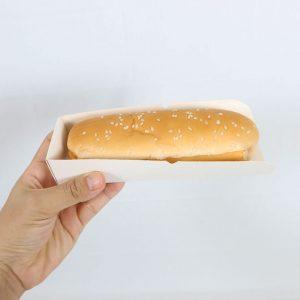 ถาดใส่ hot dog ถาดใส่ลูกชิ้น2