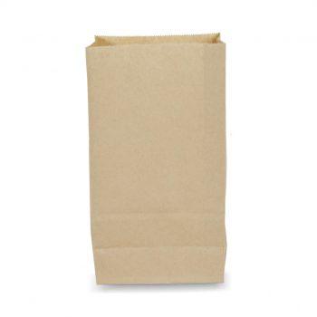 ถุงกระดาษคราฟท์สีน้ำตาล 15.5x10x30 cm