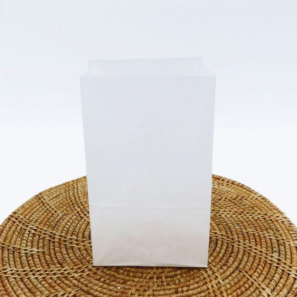 ถุงกระดาษคราฟท์ สีขาว size XS-3