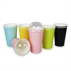 ฝาแก้วพลาสติกโดม ใช้กับแก้ว 16,22 ออนซ์-5