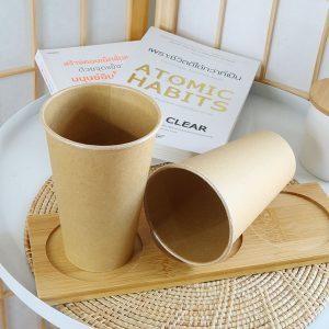 แก้วกระดาษคราฟท์-16-ออนซ์-(ไม่รวมฝา)
