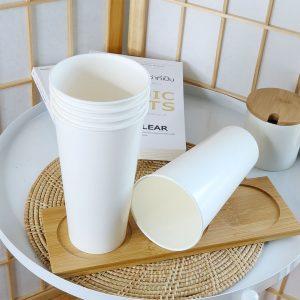แก้วกระดาษสีขาว22-ออนซ์-(ไม่รวมฝา)