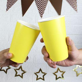 แก้วกระดาษสีเหลือง-16-ออนซ์-1