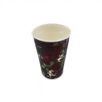แก้วกระดาษ-ลายดอกกุหลาบ-16-ออนซ์-2