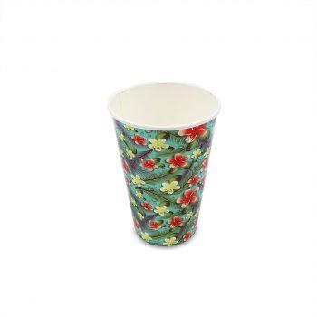 แก้วกระดาษ-ลายดอกลีลาวดี-16-ออนซ์-2