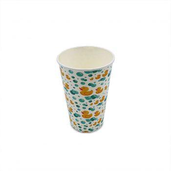 แก้วกระดาษ-ลายเป็ด-16-ออนซ์-2