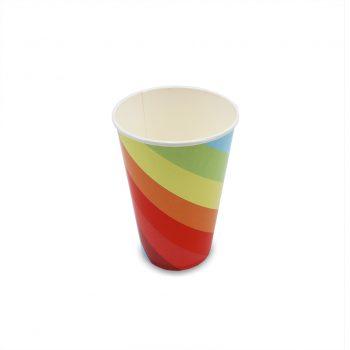 แก้วกระดาษ-ลายเรนโบว์-16-ออนซ์-2