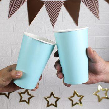แก้วกระดาษ-สีฟ้า-16-ออนซ์-2