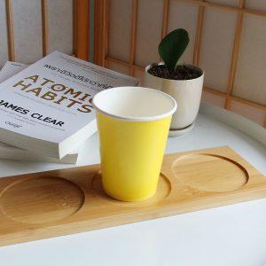 แก้วกระดาษ-สีเหลืองเลมอน-8-ออนซ์