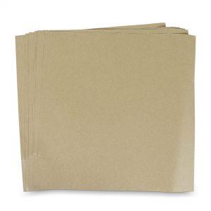 กระดาษรองพิซซ่า สีน้ำตาลธรรมชาติ 12x12 นิ้ว