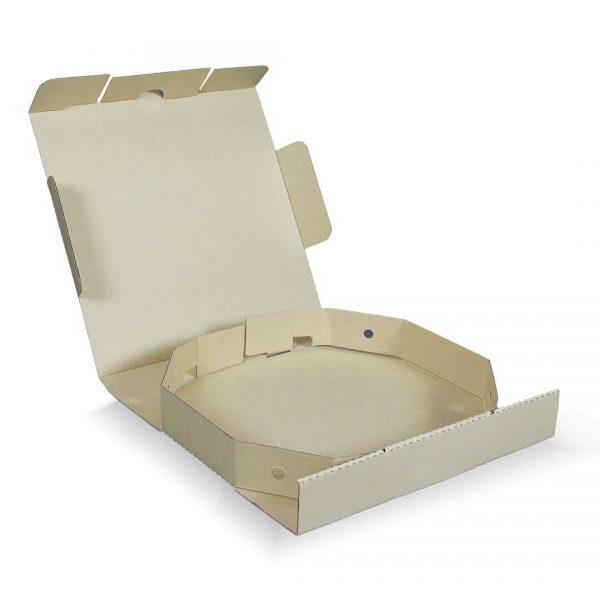 กล่องพิซซ่าแปดเหลี่ยม ขนาด 12 นิ้ว 32.6 x 32.6 x 5 ซม.