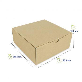 กล่องใส่อาหาร-10-นิ้ว-(Size-S)-dimemsion