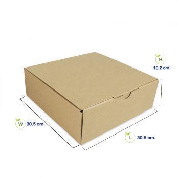 กล่องใส่อาหาร-12-นิ้ว-(Size-M)-dimension