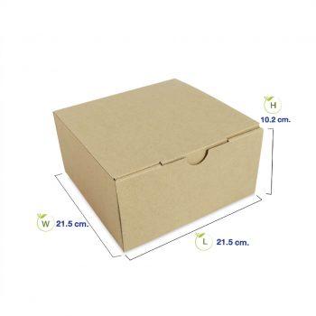 กล่องใส่เค้กพร้อมสินค้า-8-นิ้ว-dimension