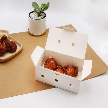 กล่องไก่ทอดบอนชอน สีขาวบรรจุ 3-4 ชิ้น (Size XS)3