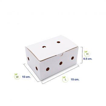 กล่องไก่ทอดบอนชอน-สีขาวบรรจุ-6-7-ชิ้น-(Size-S)-dimension