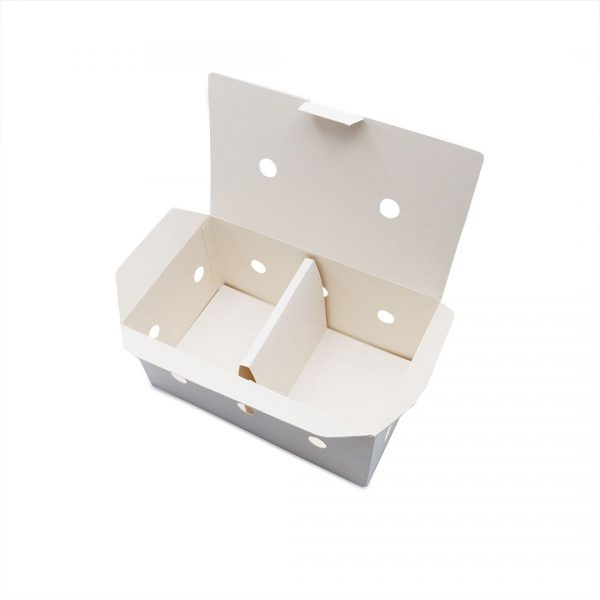 กล่องไก่ทอด สีขาว บรรจุ 13-15 ชิ้น (Size M) ขนาดเดียวกับ กล่องไก่ทอดบอนชอน4