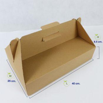 กล่องไดคัท-มีหูหิ้ว-(Size-L)-dimension