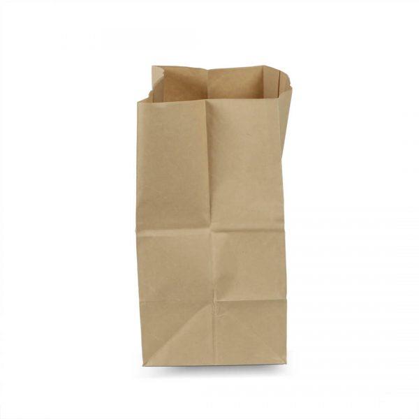 ถุงกระดาษคราฟท์ เจาะหู 28x15x28 cm (ยxกxส)-3