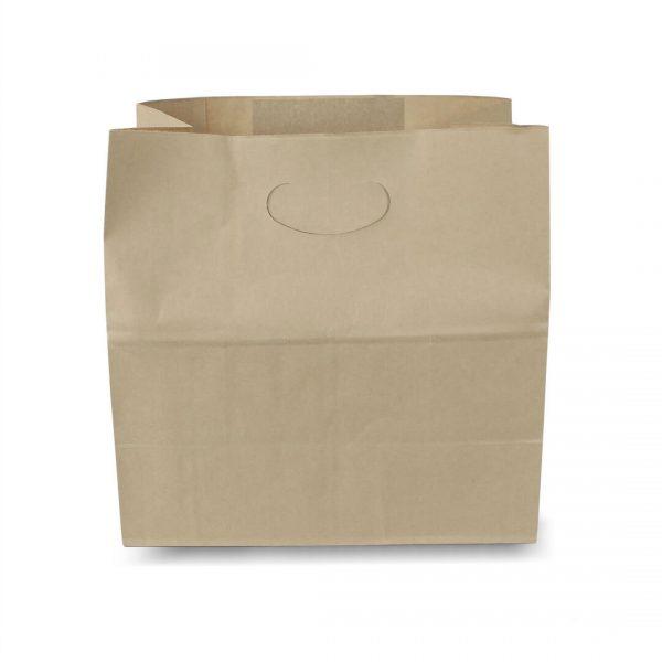 ถุงกระดาษคราฟท์ เจาะหู 28x15x28 cm (ยxกxส)-4