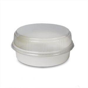 ฝาพลาสติกโดม(PET) ใช้กับชาม 20 ออนซ์-4